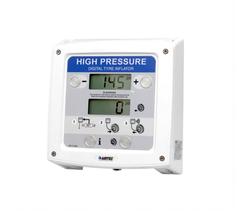 XDH High Pressure Digital Tyre Inflator