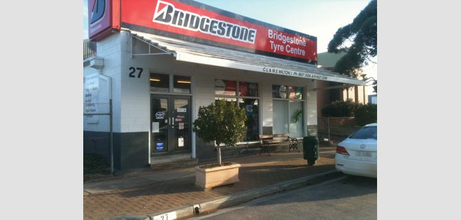 Bridgestone Tyre Centre in Kimba