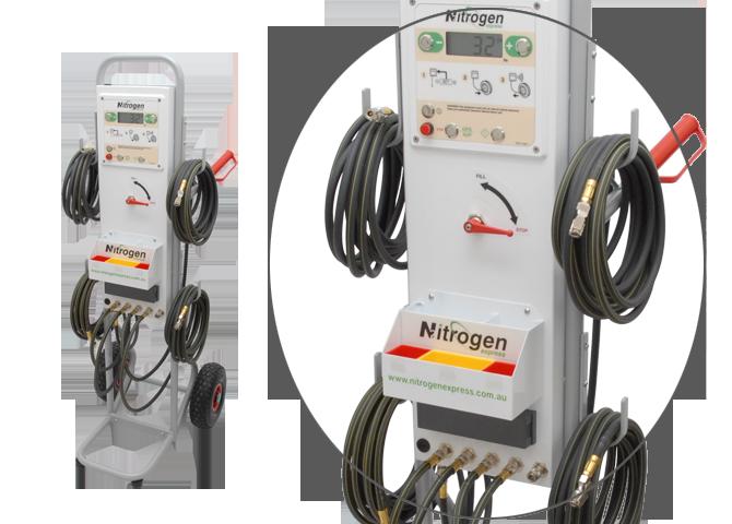 TR5 Nitrogen Trolley