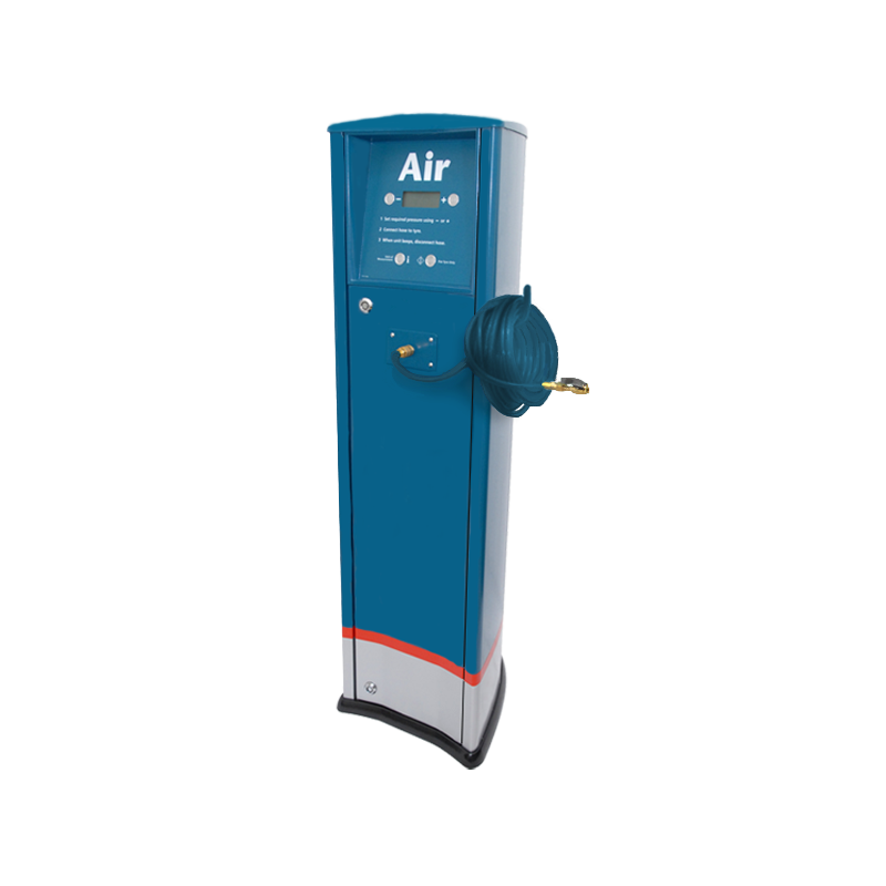 FRP Freestanding inflator with compressor Caltex service station