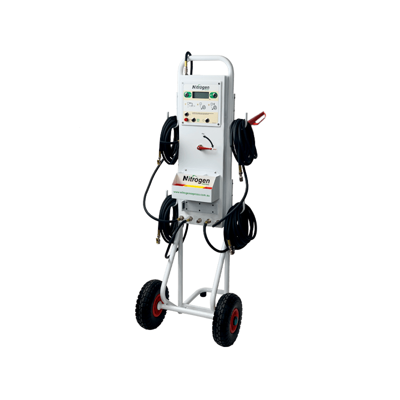 TR5 Nitrogen Trolley for up to 5 tyres