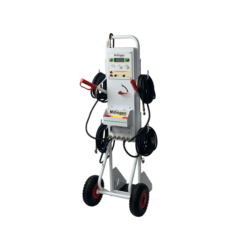 TR6 Nitrogen Trolley for up to 6 tyres